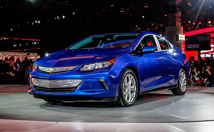 Chevrolet Volt 2016 фото