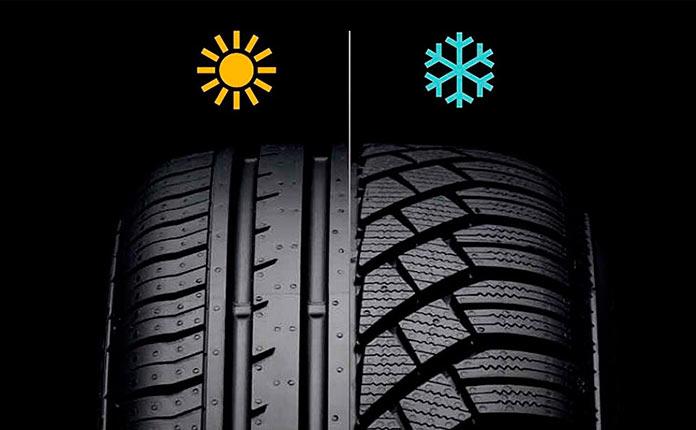 Когда менять зимние шины на летние? Смена зимней резины.