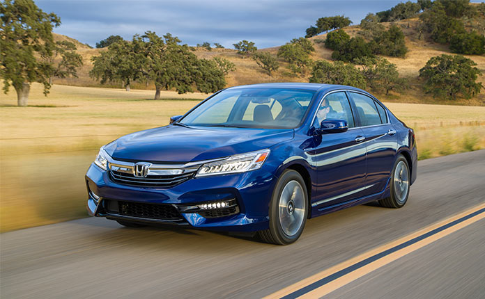 фото Honda Accord Hybrid 2017