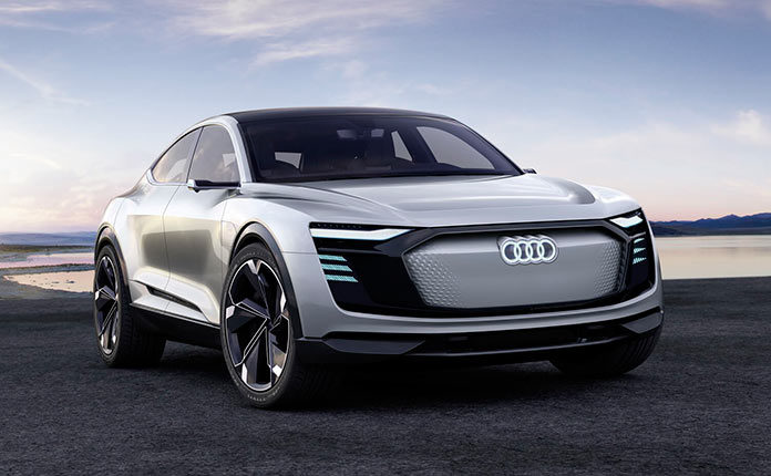 Audi e-tron Sportback 2019 обзор