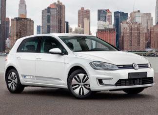 Volkswagen e-Golf 2017 обзор