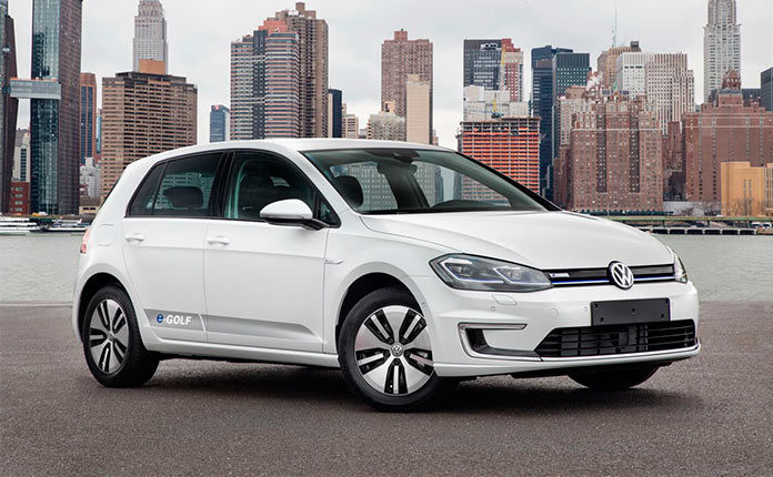 Volkswagen e-Golf 2017 обзор