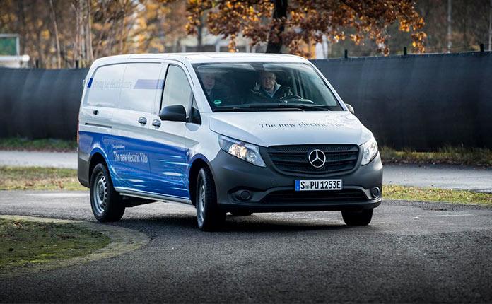 Mercedes-Benz eVito 2018