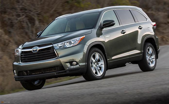 Toyota Highlander Hybrid 2014 фото